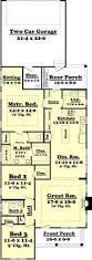 Small 3 Bedroom House Floor Plans by Best 25 Narrow House Plans Ideas That You Will Like On Pinterest