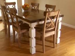 How To Decorate Your Dining Room Table How To Build A Dining Table From An Old Door And Posts Hgtv