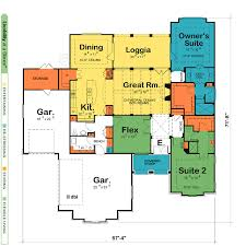 5 bedroom one story floor plans trends and house plan montgomery