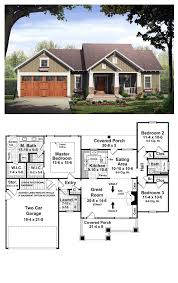 Ranch Style House Plans With Basement by Bungalow Style Cool House Plan Id Chp 37252 Total Living Area