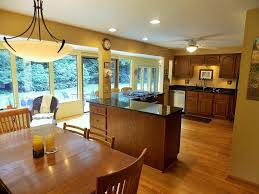 country kitchen with undermount sink u0026 columns in webster ny