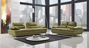 naomi green leather sofa sets steel legs loveseats sets online
