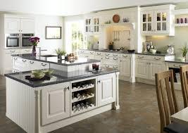 kitchen good looking off white kitchen cabinets black appliances