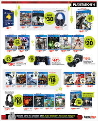 ps4 games black friday gamestop u0027s black friday flyer is out nintendo ps4 xbox one and