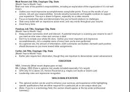 Summary Sample Resume by Resume Objective Or Professional Summary