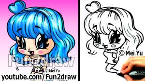 katy perry chibi drawing tutorial super cute u0026 fun popular