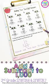 Regrouping Worksheets 85 Best Addition And Subtraction Images On Pinterest Second