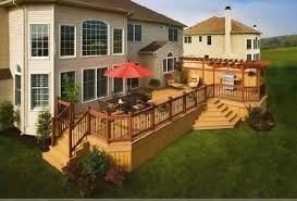 backyard decks and patios ideas 20 deck patio ideas electrohome info