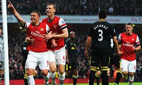 Pertandingan Arsenal vs Wigan Athletic