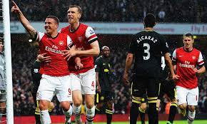 Pertandingan Arsenal vs Wigan Athletic