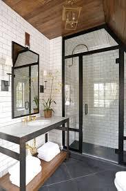 Modern Grey Bathroom Ideas Best 25 Farmhouse Bathrooms Ideas On Pinterest Guest Bath