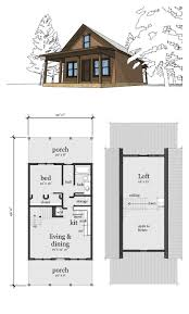 one bedroom cottage layouts