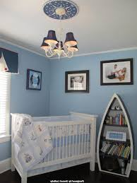 beach baby room modern baby room blue rocking chair white