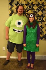 Halloween Costume Monsters Inc October 2014 Happy Homemade