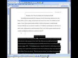 APA Citation th Edition Microsoft Word Research amp Term Paper