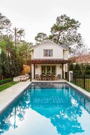Pool Guest House A Fresh And Inviting Cottage Style Guest House In Houston