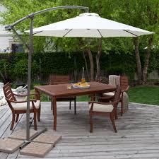 Offset Patio Umbrella by Garden Design Big Patio Umbrella Garden Treasures Offset