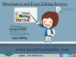 Who should you use First Editings thesis editing service