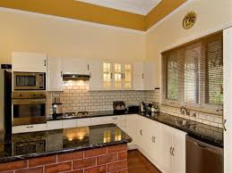 kitchen nice looking kitchen idea using white l shaped kitchen