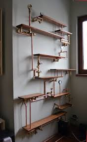 best 25 industrial bookshelf ideas on pinterest pipe bookshelf