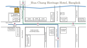 Bangkok Location In World Map by Map U0026 Location Hua Chang Heritage Hotel The Thai Contemporary