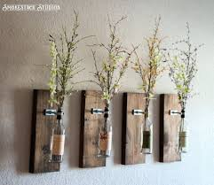 Rustic Decorations Modern Rustic Wall Decor Reclaimed Wood Walls Display Shelves And