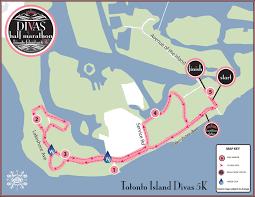 divas half marathon toronto island canada