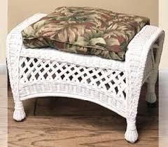 Footstools Ottomans by Wicker Ottoman Wicker Footstool Outdoor Ottoman