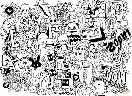 crazy coloring pages crazy tree doodle coloring page free
