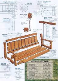 25 amazing diy porch swing plans to try right now it u0027s free