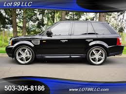 2008 land rover range rover sport supercharged 96k miles navi