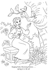 FUN & LEARN : Free worksheets for kid: Disney Princess Belle ...