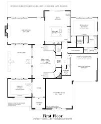 iron oak at alamo creek the torrey ca home design 1st floor floor plan
