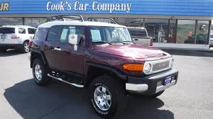 toyota company overview 2007 toyota fj cruiser trd off road edition two tone with