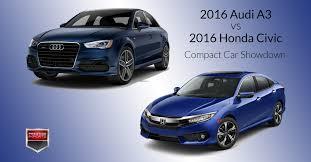 lexus vs audi q3 2016 audi a3 vs 2016 honda civic compact car showdown prestige