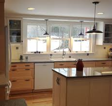 kitchen glamorous kitchen island lighting with recessed lighting