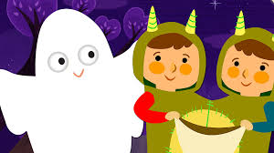 halloween kid images knock knock trick or treat halloween song super simple songs