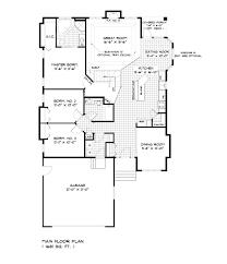 100 bungalow floorplans house plans 3 bedroom rambler floor