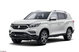 next gen ssangyong rexton y400 to be sold as a mahindra suv in