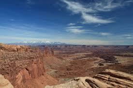 Canyonlands National Park Map Mesa Arch Modern Hiker