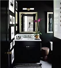 Black And White Small Bathroom Ideas Best 25 Black Powder Room Ideas On Pinterest Black Bathroom