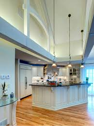 appealing high ceiling images ideas trends with kitchen lighting
