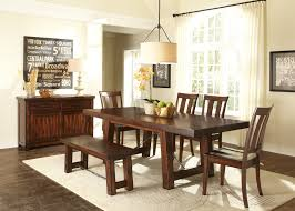 liberty furniture tahoe 6 pc dining set with bench hayneedle dining set with bench hayneedle
