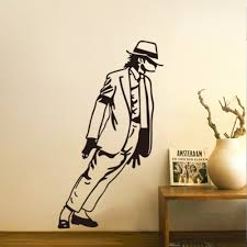 popular dance wall decals buy cheap dance wall decals lots from dancing michael jackson wall stickers for kids rooms removable vinyl wall decals art poster diy home