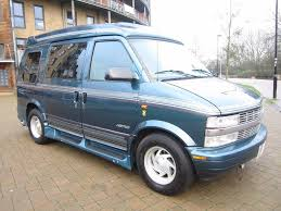 lhd chevrolet astro surf campervan ultra spec twin tank lpg