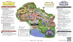 Orlando Universal Studios Map by Disney U0027s Hollywood Studios Guidemaps