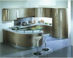 Kitchen Island Sizes by Modern Curved Kitchen Island