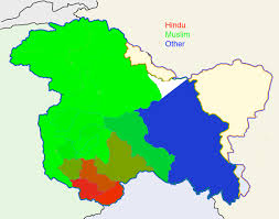 Religions Of The World Map by How Has Kashmir U0027s Religious Map Changed Since 1947 South Asia Blog