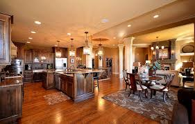 Decorating An Open Floor Plan Wonderful Open Floor Plan Ranch Pics Design Ideas Surripui Net