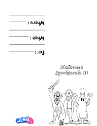 Halloween Masks Printables Scary Costumes U0026 Masks Coloring Pages Hellokids Com